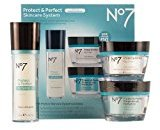 Boots No7 Protect & Perfect Skincare System Includes Protect & Perfect Day Cream SPF 15, Night Cream and Serum; by