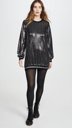 Pam & Gela Mirror Ball Dress