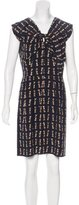 Miu Miu Silk Printed Dress