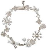 Betsey Johnson Betsey Blue Vintage Floral Bracelet