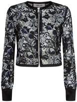 Diane von Furstenberg Floral Lace Jacket