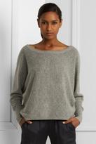 Oversized Dolman-Sleeve Sweater