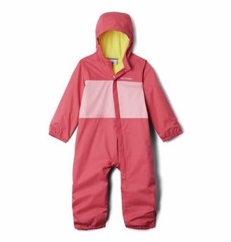 Columbia Baby Critter Jitters Rain Suit Waterproof & Breathable Fleece Lined