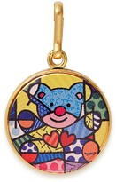 Alex and Ani Friendship Bear Art Infusion Necklace Charm | Romero Britto