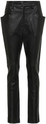 Isabel Marant Modena skinny leather pants