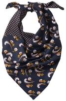 Banana Republic Enid Floral Square Scarf