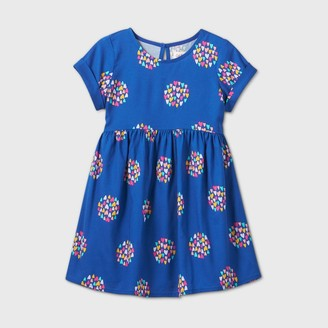 Cat & Jack Toddler Girls' Heart Short Sleeve Dress - Cat & JackTM