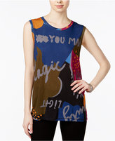 Rachel Roy Graphic Tank Top, Only at Macy's