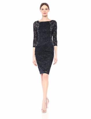 Marina Women's Lace Cocktail Dress