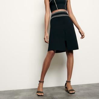 Sandro Short knit skirt
