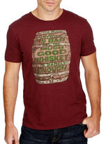 Lucky Brand Whiskey Barrel Tee