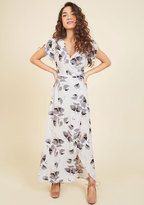 ModCloth It's a Long Flowy Maxi Dress in 4X