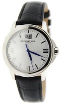 Raymond Weil 5476 Tradition Stainless Steel & Leather Quartz 38mm Mens Watch