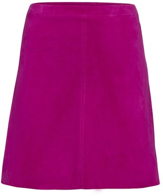 STOULS Lucie high-rise miniskirt