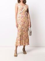 Thumbnail for your product : Rixo Storm midi shift dress