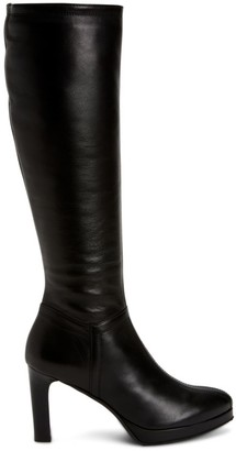 Aquatalia Raelynn Knee-High Leather Platform Boots