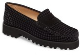 Ron White Women's Rita Houndstooth Water Resistant Penny Loafer
