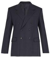 Balenciaga Striped double-breasted blazer