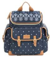 Carter's Baby Go Bandana Backpack Diaper Bag in Blue