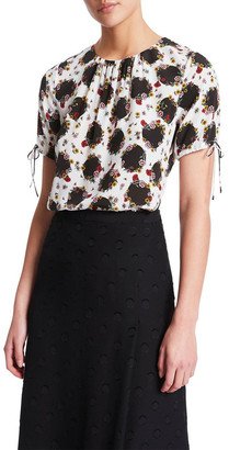 Nell Falling Floral Blouse