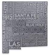 Top Shelf Living New Mexico Etched Slate Cheese Board