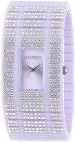 Haurex Women's Honey PC purple dial watch.