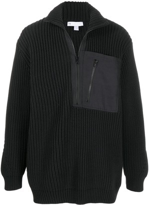 Y-3 Knitted Long-Sleeve Jumper