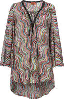 Missoni Mare Multicolor Short Caftan