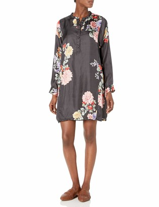 Johnny Was Women's Floral Silk Printed Tunic Dress