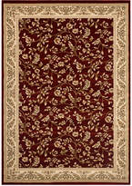 "Kenneth Mink Closeout! Km Home Area Rug, Princeton Floral Red 7'10"" x 10'2"""