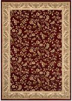 "Kenneth Mink KM Home Area Rug, Princeton Floral Red 4' x 5'3"""