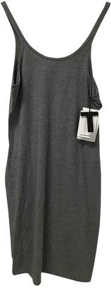 Alexander Wang Grey Cotton - elasthane Dress for Women