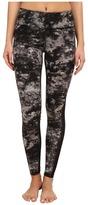 Zobha Cosmo Printed Leggings with Mesh Panels