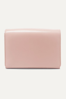 SERAPIAN Gemma Leather Clutch - Pink