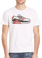 Mostly Heard Rarely Seen Sneaker Graphic Tee