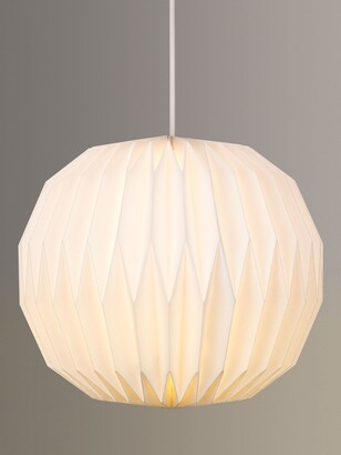ANYDAY John Lewis & Partners Issie Easy-to-Fit Paper Ceiling Shade