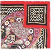 Salvatore Ferragamo floral print scarf - women - Silk/Cashmere - One Size