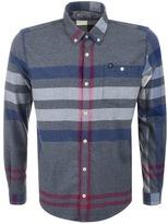 Barbour Alfie Check Shirt Grey