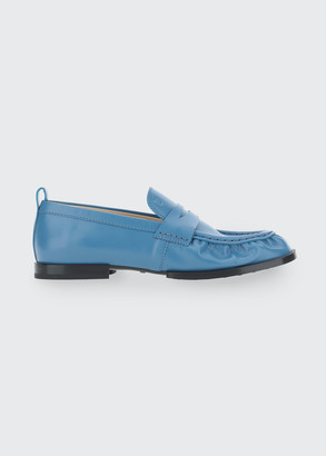 Tod's Soft Leather Penny Loafers
