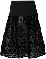 Ungaro embroidered skirt
