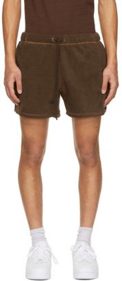 Phlemuns Brown Track Shorts