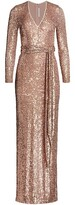 Thumbnail for your product : Naeem Khan Deep V Column Gown