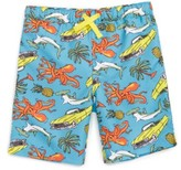 Tucker Toddler Boy's + Tate 'Sand 'N My Trunks' Swim Trunks