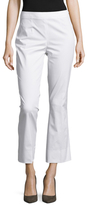 Prada Solid Cropped Flared Trouser