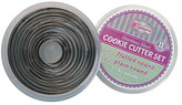 Winco Plain Round Cookie Cutter 11-Piece Set