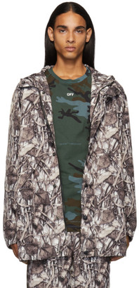 Doublet White Predator Embroidery Real Camouflage Jacket