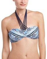 Nanette Lepore Women's Santorini Scallop Tease Bikini Top