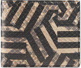 Gucci GG Caleido python wallet