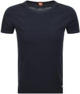BOSS ORANGE Touring Short Sleeve T Shirt Navy