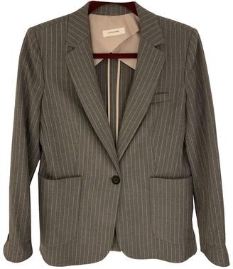 Anine Bing Spring Summer 2020 Grey Jacket for Women